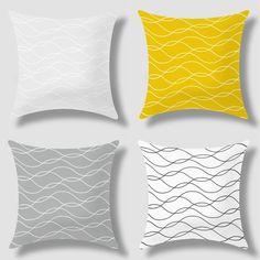 Encontrar Más Cojines Información acerca de Geométricas nórdicos sofá de impresión almohada cojín IKEA hogar creativo decorativo tela escocesa de la raya ropa de cama colchón Cojines C65, alta calidad amortiguar la pintura, China cojines para venta de muebles al aire libre Proveedores, barato cojines para sillas de exterior de lureen gift Co., Ltd en Aliexpress.com