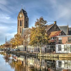#church and #canal at #oudewater #holland #instanikon #travel #super_holland #ig_nederland #wonderful_holland #instalike #instacool #visitholland #dutchlife #picoftheday #hdr #hdrphotography #hdrfreak #hdrspotters #hdr_edits #hdrart by frans_blok_3develop