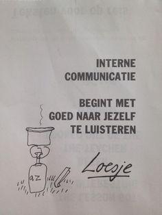 Interne communicatie volgens @loesjenl