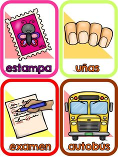 Preschool Spanish, Learning Spanish, Baby Learning, Learning Centers, Preschool Printables, Preschool Activities, School Colors, Future Classroom, Pre School