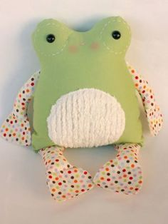 Fritter Frog Dolls - 12 inch Baby / 17 inch Adult | YouCanMakeThis.com