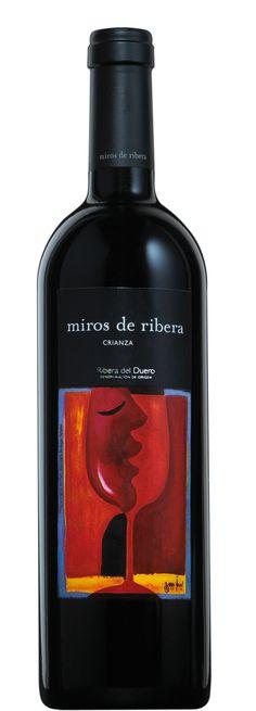 Miros de Ribera Crianza, Ribera del Duero wine. http://www.winegooroo.com/es/tinto/miros-crianza