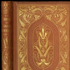 The travels and surprising adventures of Baron Munchausen [binding] :: American Publishers Trade Bindings