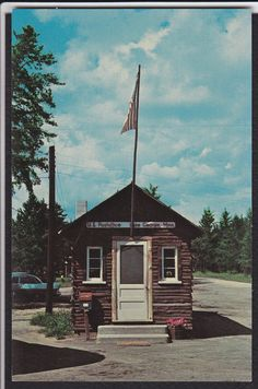 Lake George-MN-World's Smallest Post Office-Vintage Postcard | eBay