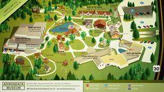 Adirondack Museum Campus Map #adirondacks #maps
