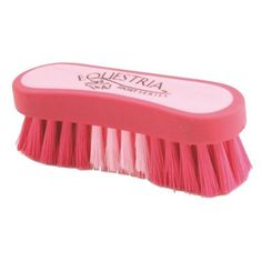 Desert equestrian 2176-1 Equestria Sport Face Brush for Horses / Color (Pink) by DESERT EQUESTRIAN. $2.78. Smaller block for smaller hands.. Mini dual-injected molded block with color-coordinated smooth synthetic fiber.. Equestria sport face brush is colorful, durable and waterproof.. Great for ponies, miniature horses; easy for children to hold and it fits handily into any pocket or grooming kit.. Designed for general purpose face or body grooming.. Equestria Sport Face Bru...
