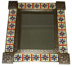 Pictures Of Mexican Mosaic Frames Mexican Mirrors Small
