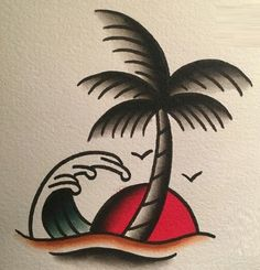Traditional Tattoo Stencils, Traditional Ship Tattoo, Traditional Tattoo Old School, American Traditional Tattoos, Old Tattoos, Sleeve Tattoos, Tattoos For Guys, Tattoos For Women, Small Tattoos