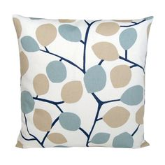 Duck Egg Blue Cushion Cover 16x16 Pillow Sham Duck by CoupleHome, $13.50