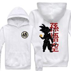 Dragon Ball Goku hoodie for men anime 3xl hoodies
