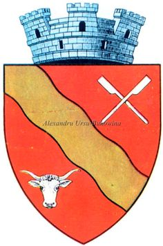 Ținutul Suceava. Județul Câmpulung. Vatra Dornei. Capital City, Coat Of Arms, Cities, Symbols, Art, Art Background, Icons, Kunst, Performing Arts