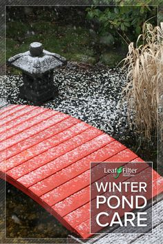 These winter pond care tips will help you maintain your yard and landscaping Leaf Filter, Picnic Blanket, Outdoor Blanket, Pond, Home Improvement, Landscaping, Exterior, Winter, Tips