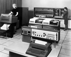 The early days of computing - Kind of fun to be doing mainframe computing and hearing all of my older co-workers talk about the boom days of IBM and the mainframe.
