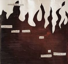 The Burning World  #newspaperpoem #erasurepoetry #blackoutpoetry #amwriting #poetry #newspaperblackout #newspaperpoetry #blackoutpoem #blackoutcommunity #makeblackoutpoetry #writersofig #poetsofig #artfromart