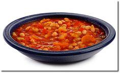 Griechische Bohnen Suppe (Diät-Rezept)