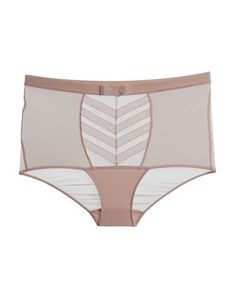 Chantal Thomass Brief In Light Pink Tulle, Pink, Color, Clothes, Shopping, Collection, Fashion, Outfits, Moda