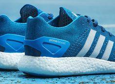 "adidas Primeknit Pure Boost ""Solar Blue"""