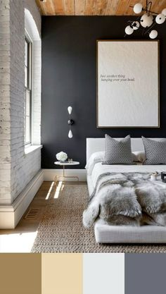 The perfect color for your modern bedroom