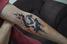 #tattoo #splash