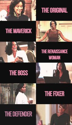 """ Representation matters: my six favourite black female fictional lawyers. • Clair Huxtable (The Cosby Show) • Maxine Shaw (Living Single) • Joan Clayton (Girlfriends) • Jessica Pearson (Suits) •..."