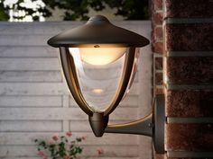 Applique extérieure électrique LED montante en aluminium H26cm 430 Lumens Robin…