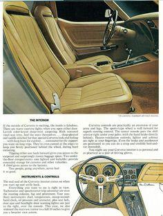 1974 Chevrolet Corvette Interior