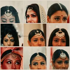 anika,s mangteka Jewelry Design Earrings, Necklace Designs, Indian Dress Up, Indian Wear, Head Chain Jewelry, Bengali Bridal Makeup, Surbhi Chandna, Imitation Jewelry, Bollywood