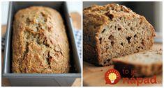 Konečne chutná a lacná náhrada chlebíka, z ktorej nepriberiete ani gram: Neskysnutý domáci chlebík bez gramu múky!