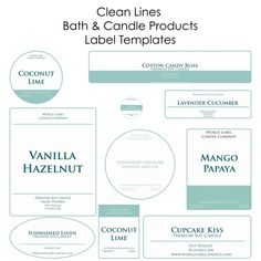 Free Soap Labels & Candle Labels Biz Starter Kit, but you can use for lots of other things -:)