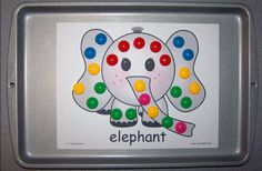 Zoo magnet sheets. A fun activity to add to your zoo theme.