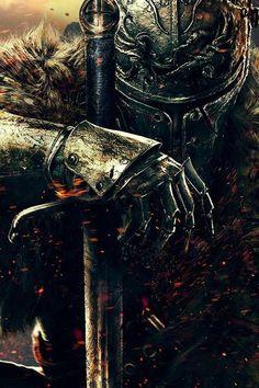 Fantasy Armor, Medieval Fantasy, Dark Fantasy Art, Dark Art, Templar Knight Tattoo, Arte Dark Souls, Spartan Tattoo, Soul Tattoo, Warrior Tattoos