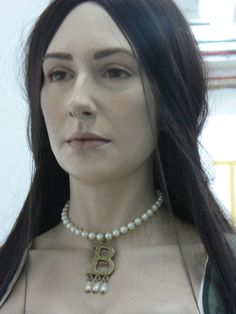 Anne Boleyn reconstruction at Hever Castle Kent UK by Emily Pooley 22 year old…