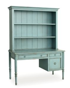 The Hamptons Painted Furniture Collection, Southampton Writing Desk with Hutch