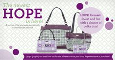 Hope, beauty in purple for a great cause!  http://janna.miche.com