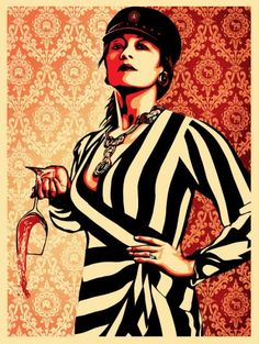 "Obey Giant - ""These Parties Disgust Me"" Screen Print by Shepard Fairey"
