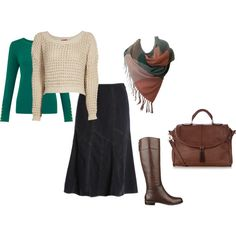 """""""Fall & Winter Casual Modest"""" by hem-of-his-garment-ministries on Polyvore"""