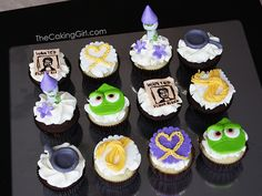 Tangled Cupcakes | Flickr - Photo Sharing!