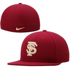 new styles fb4aa 350d0 Florida State Seminoles Nike Dri-FIT Vapor True College Authentic Baseball  Fitted Hat - Garnet