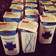 Hangover Helper..great Idea! @kelly McWilliams