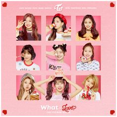 This is my favorite album of TWICE! Hope you guys like it~ Please credit me if you are gonna use it Twice - The Mini Album : What Is Love? Kpop Girl Groups, Korean Girl Groups, Kpop Girls, Nayeon, Cd Album Covers, Twice What Is Love, Twice Album, Kpop Posters, Twice Kpop