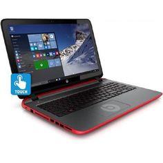 """HP Beats 15.6"""" A10 7300 8G 1TB Win10 Touchscreen Laptop"""