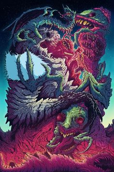 Cosmic Horrors by Brock Hofer