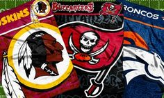 """Groupon - $ 18.99 for NFL 46""""x60"""" Micro-Raschel Throw ($40 List Price). Multiple Team Logos Available. Free Shipping and Returns. in Online Deal. Groupon deal price: $18.99"""