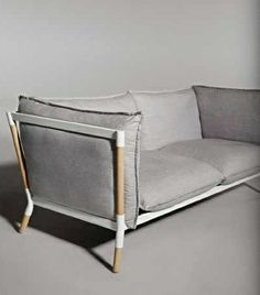 Merveilleux Grotto Sofa Is A Great Piece For Urban Apartment Dwellers, A Lightweight  Steel Frame With