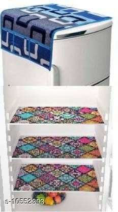 Checkout this latest Fridge Cover Product Name: *Trendy Fridge cover* Material: Fabric Pack: Pack of 3 Country of Origin: India Easy Returns Available In Case Of Any Issue   Catalog Rating: ★4 (397)  Catalog Name: Trendy Fridge cover CatalogID_1929467 C131-SC1623 Code: 502-10552393-864