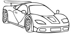 Koenigsegg Agera R Drawing | car coloring pages | Pinterest