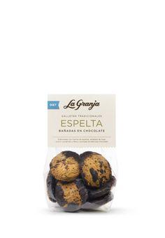 Galletas tradicionales de espeta bañadas de chcolate. #food #instafood #breakfast #healthy #delicious #gourmet #foodie #diet #espelta #galletas