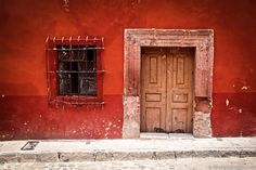 """CRUMBLING BUILDING: Photographer says, """"As I love photographing all things rusty/decaying/crumbling in general, San Miguel left me clicking my cameras' shutter every few seconds. Everywhere and everything was a picturesque scene full of colours, texture and history ready to be captured on camera."""" by Stephanie Walsh"""