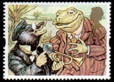 Greetings Stamps - Giving Stamp Mole and Toad (The Wind in the Willows) Uk Stamps, Postage Stamp Art, Paddington Bear, Frog And Toad, Tampons, Penny Black, Beatrix Potter, Stamp Collecting, Mail Art
