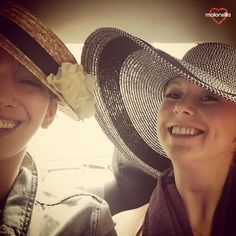 Malonsilla Artesanía - Hannah de despedida de soltera - Bridal Shower Tea Party - Canotier Sevilla - Boater